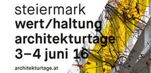 wert/haltung - Architekturtage 2016