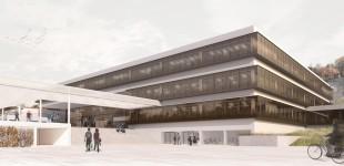 """Sanierung Akademisches Gymnasium SalzburgRefurbishment of the """"Akademisches Gymnasium"""" in Salzburg"""