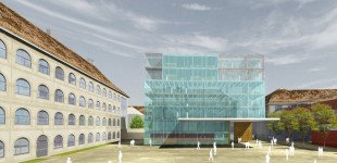 Haus des Verkehrs in der Dominikanerkaserne Graz&quot;House for Traffic&quot; Graz