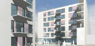 GAV Studentenheim Graz Eggenberger AlleeStudent Housing Graz Eggenberger Allee