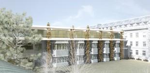 LKH Feldbach Aufstockung NeurologieHospital Feldbach - Expansion Neurology Departement