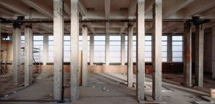 Baustelle Gebäudeadaptierung Biomedizinische Technik