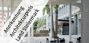 Anerkennung Architekturpreis Land SteiermarkHonerable Mention of the Styrian Architecture Award
